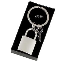 Crown-Padlock Key Ring</br>KF026